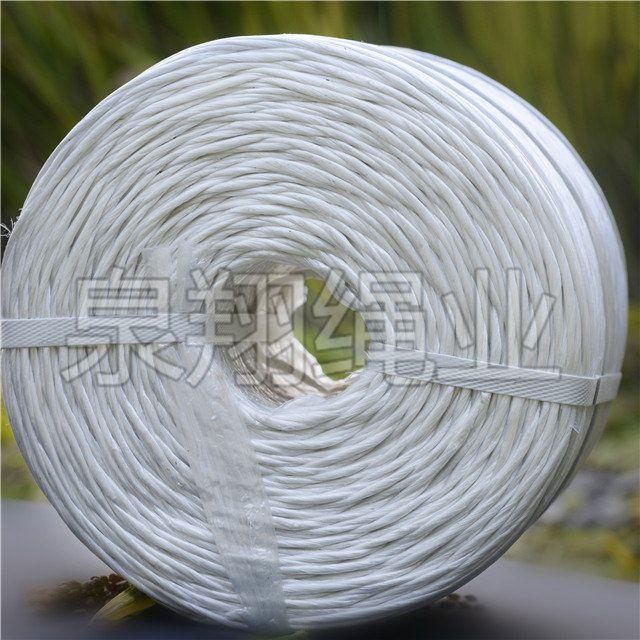 纽荷兰BC5060小方捆专用泉翔生产的白绳 pp材质