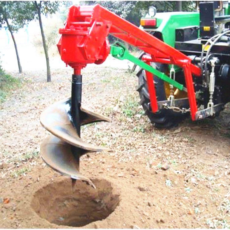 拖拉机地钻机 悬挂挖坑机 加工定做打眼机