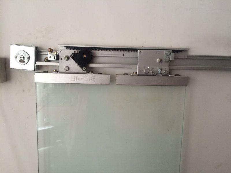 冷雨新款半自动门平移门闭门器 手动开自动关推拉闭门器