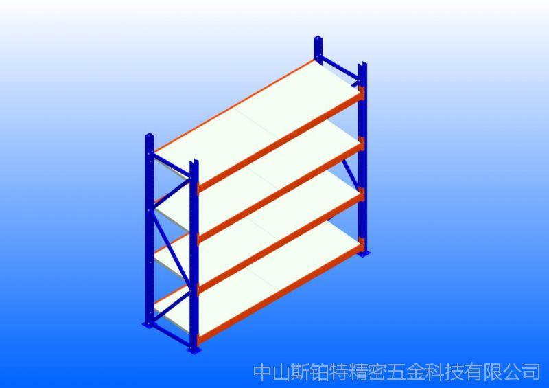 中型双柱层钢层板单面倾斜