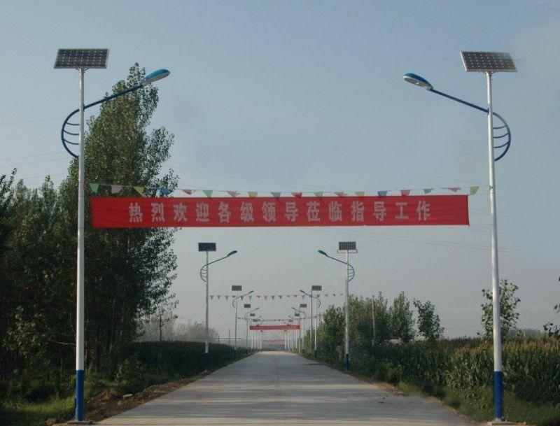 太阳能路灯生产厂家凸显专业技术