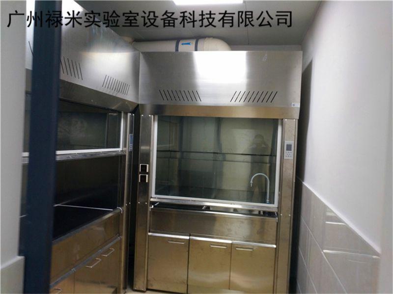 实验室不锈钢通风柜安装视频