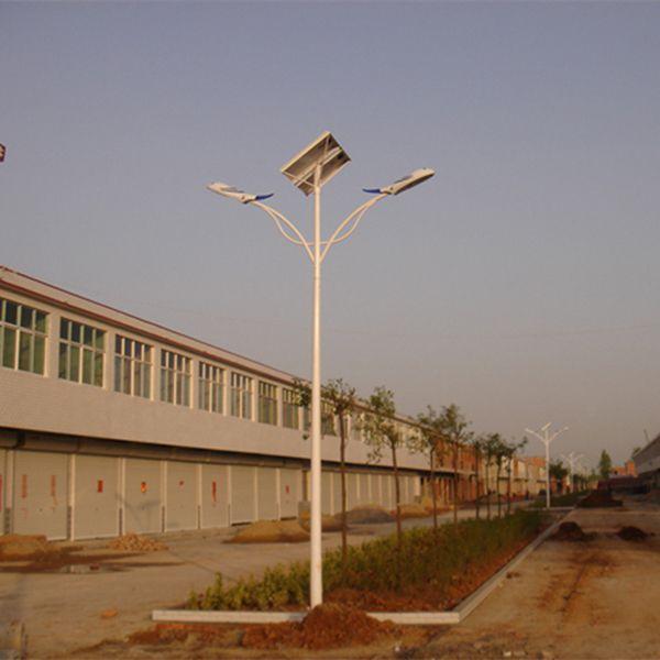 9米双臂双头LED太阳能路灯价格