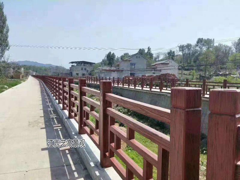 中式方格仿古栏杆