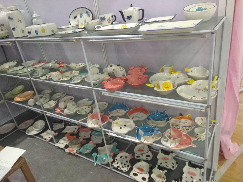 外贸陶瓷制作工厂 承接外贸陶瓷订单手绘 定制手绘餐具