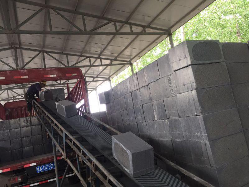水泥发泡板装货发货视频