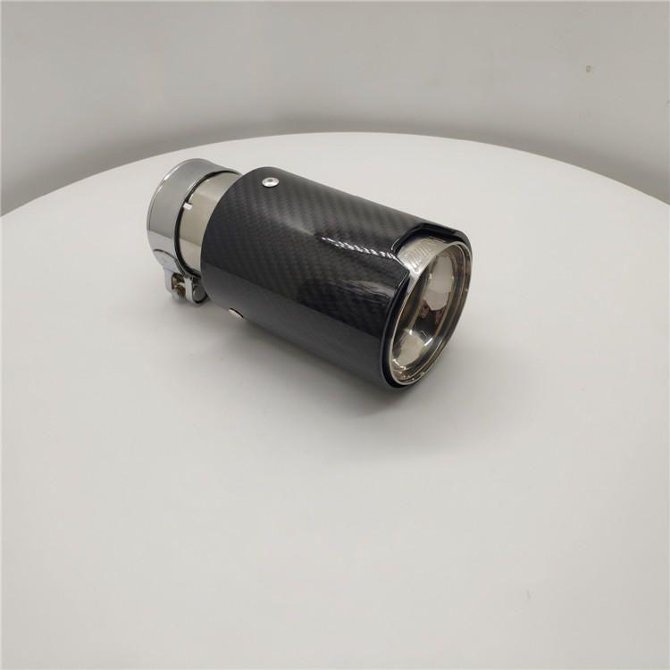 厂家直销宝马消声器排气系统改装配件淡出碳纤维尾喉