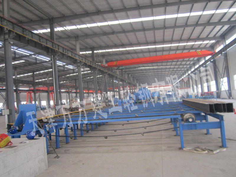 高频焊接H型钢生产产品