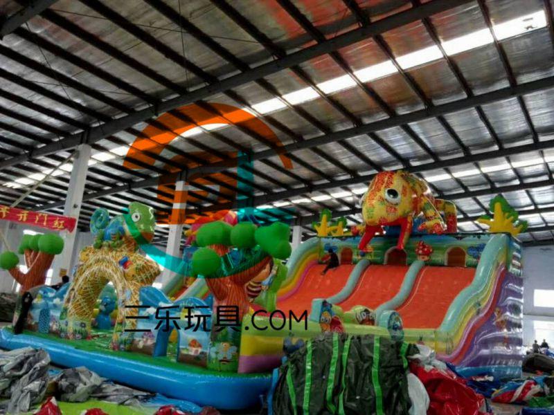 湖南长沙订制充气滑梯儿童游乐园