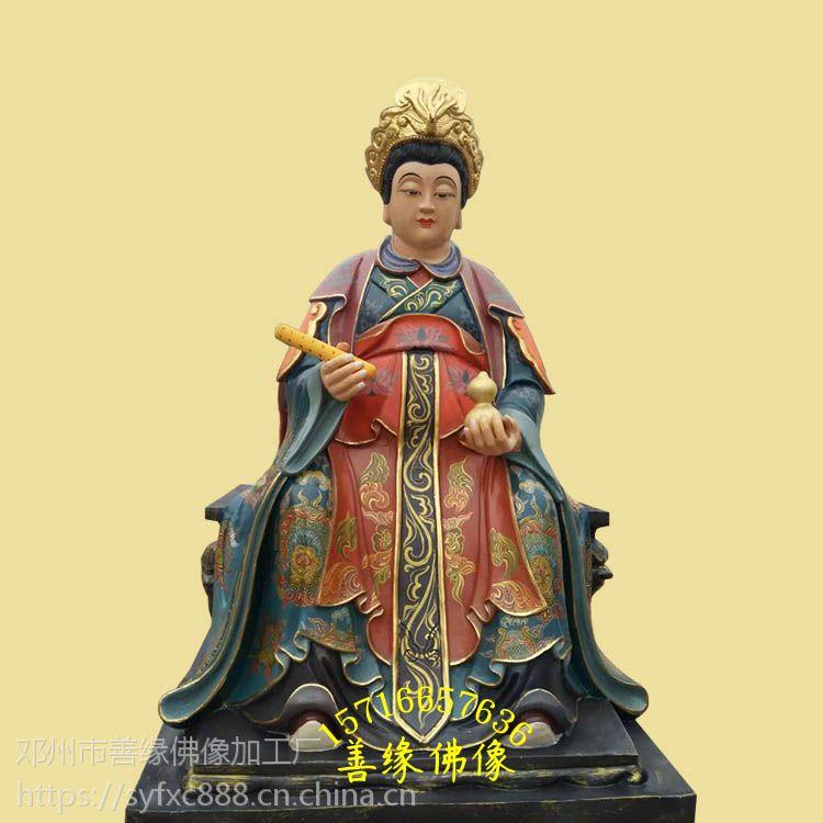 太极老 女娲娘娘、梨山 十二老母彩绘树脂神像湖南佛像厂批发