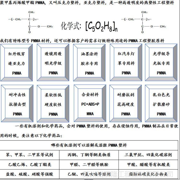 PMMA/韩国阿科玛/V040 代理商 亚克力 透镜 烫钻材料 工艺品