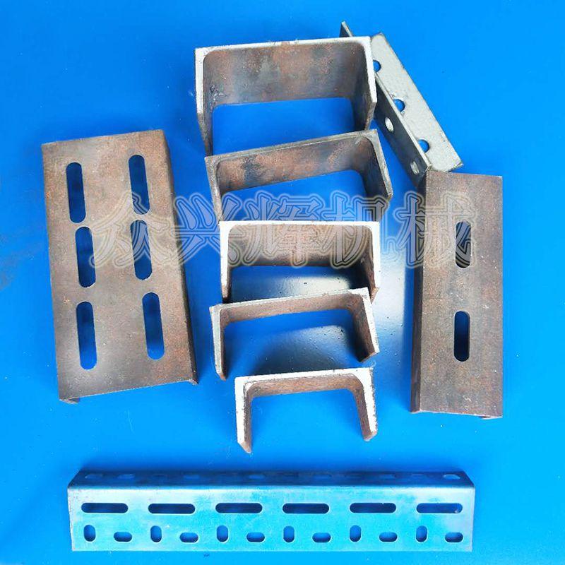 厂家直销槽钢角铁方管等型材切断下料裁断液压冲床