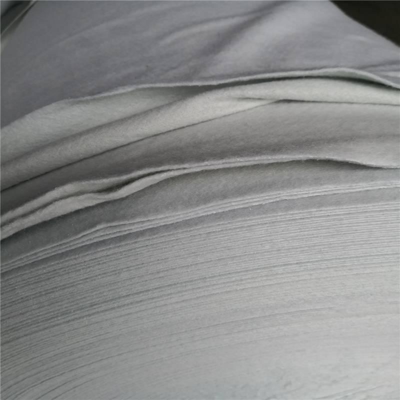 500克土工布厂家 涤纶短纤白色国标型