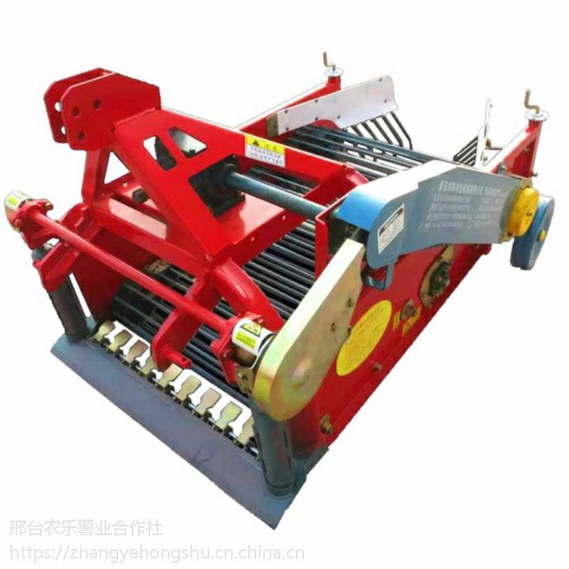 洪珠90宽新型甘薯收获机械功效地瓜收获机高效率图片