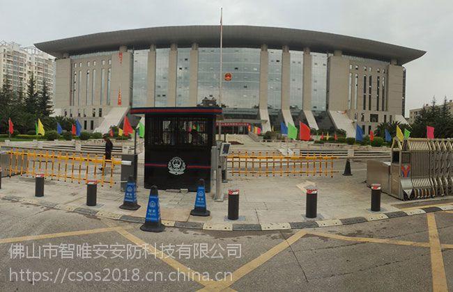 浙江嘉兴小区不锈钢升降柱,杭州步行街埋地液压路桩
