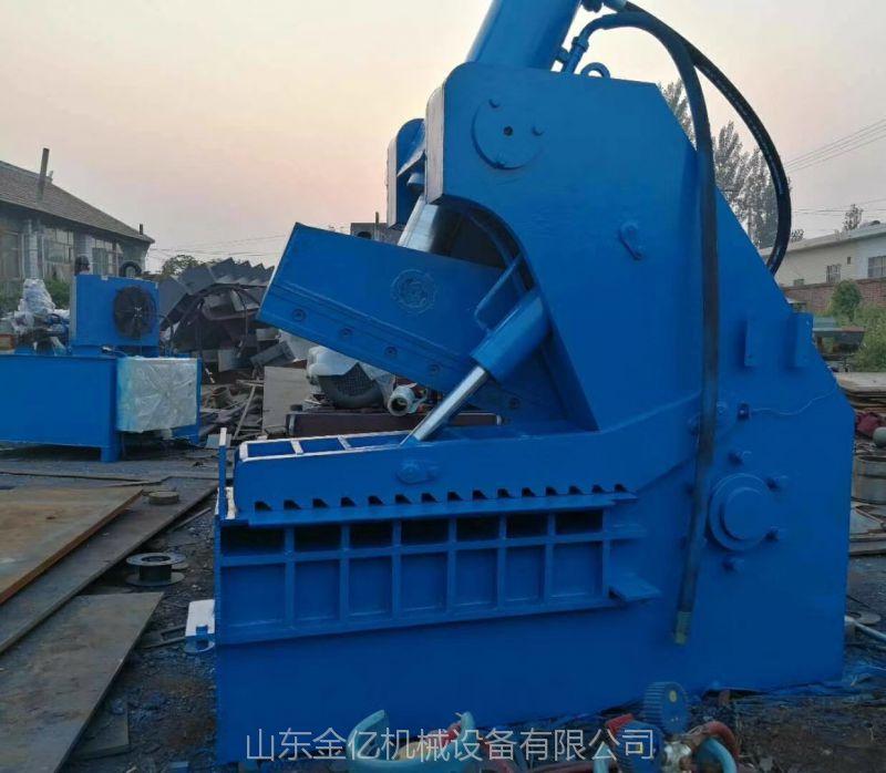 广州热销大型废铁钢板液压切断机 500吨虎头剪切机参数价格 山东金亿液压机械