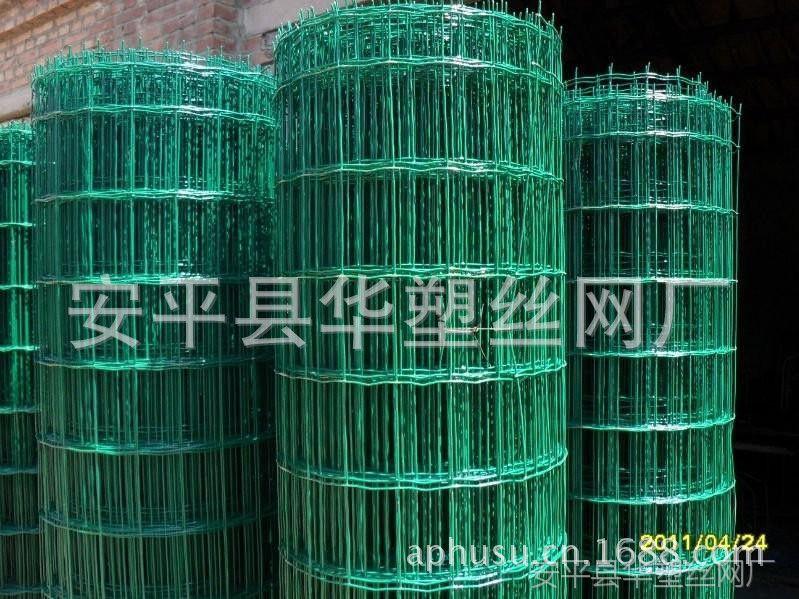 【热销产品】养殖外围网 荷兰网 浸塑铁丝网 涂塑荷兰网
