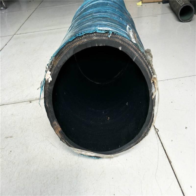 河南洛阳生产批发大口径泥浆输水橡胶管 排吸胶管