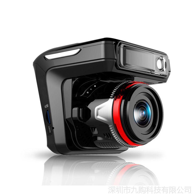 厂家直销 三合一行车记录仪高清1080P夜视电子狗测速记录仪一体机