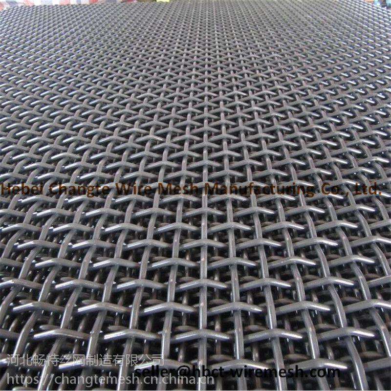 本厂专业生产出口标准轧花网,矿筛轧花网,包边轧花网