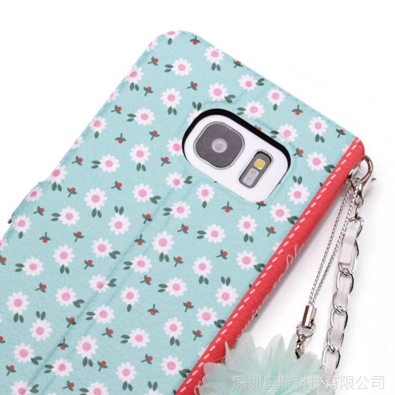 三星 S9手机套S6 6edge S7 S7edge S8花语系列手机保护壳