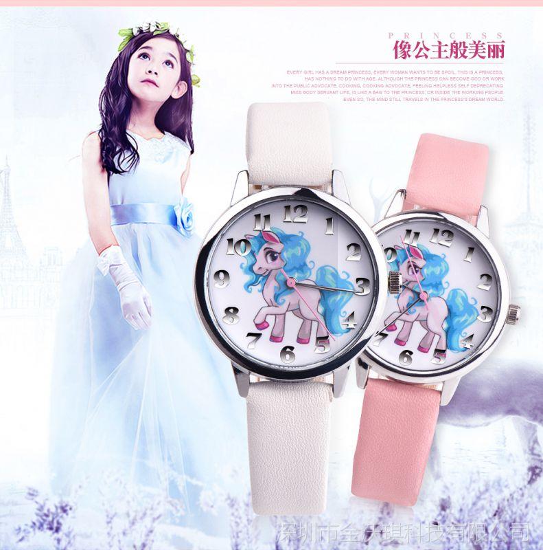 淘宝专卖外贸不供货 OKTIME儿童手表男孩女孩卡通动漫小学生手表
