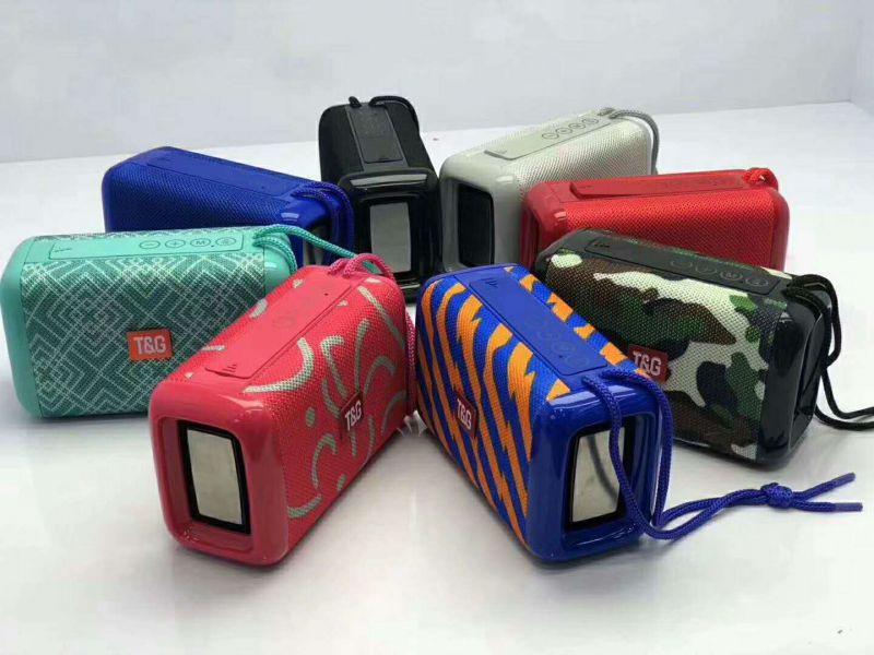 TG163时尚设计低音炮蓝牙音箱户外防水无线手提礼品音箱
