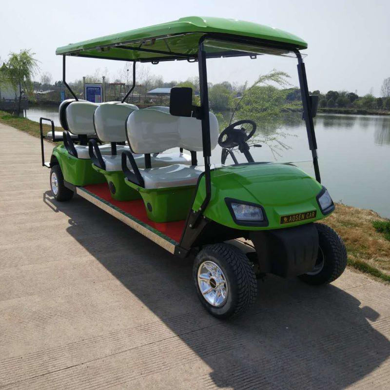 供应AS0085苹果绿色电动高尔夫球车