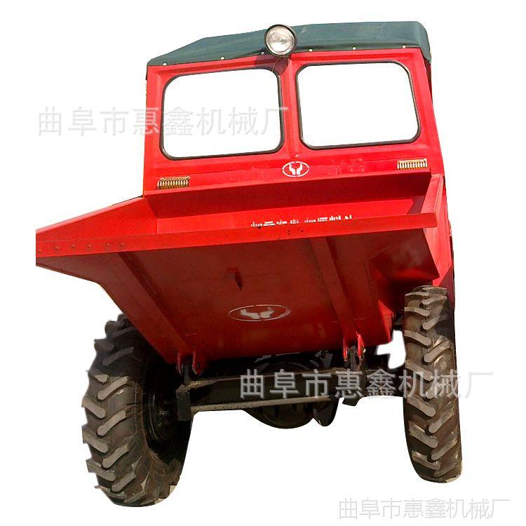 工程矿用大容量四轮车 建筑专用15马力自卸车 乡村修路专用翻斗车