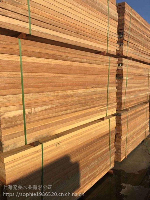流美木业 唐木 园林景观木材方柱圆柱