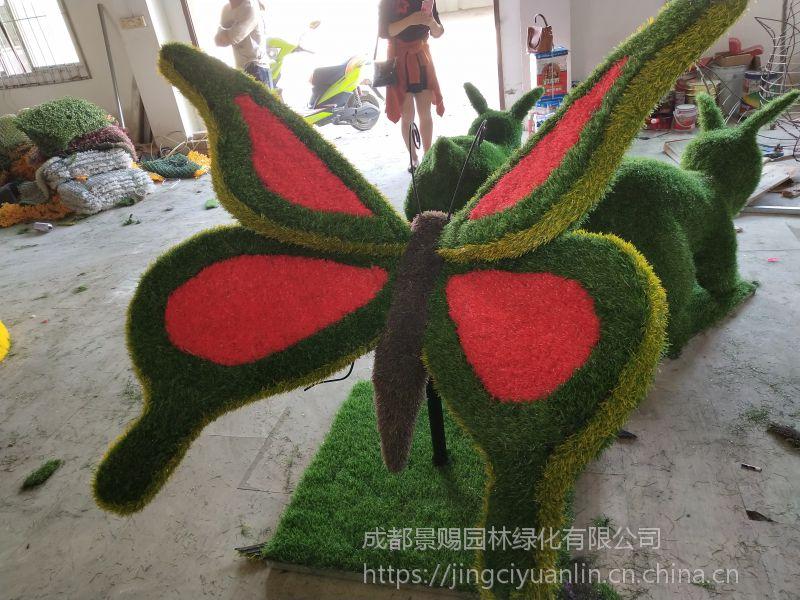功能性的雕塑造型 适合拍照摆放的绿雕造型定制