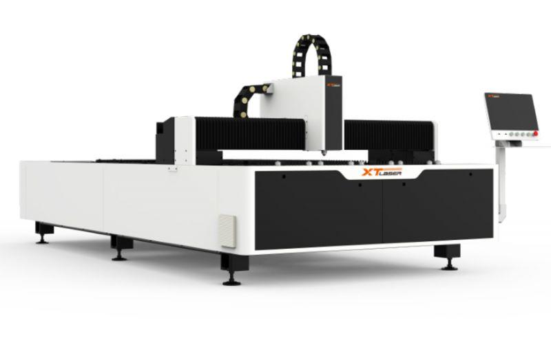 新天激光切割机镀锌板切割3MM