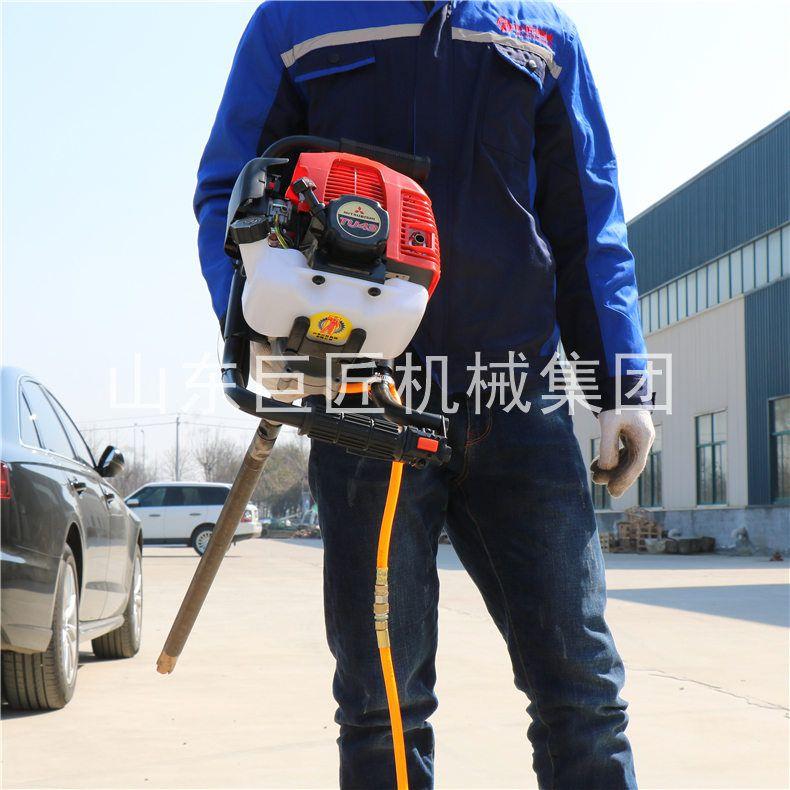 单人背包钻机轻便取样野外勘探钻机