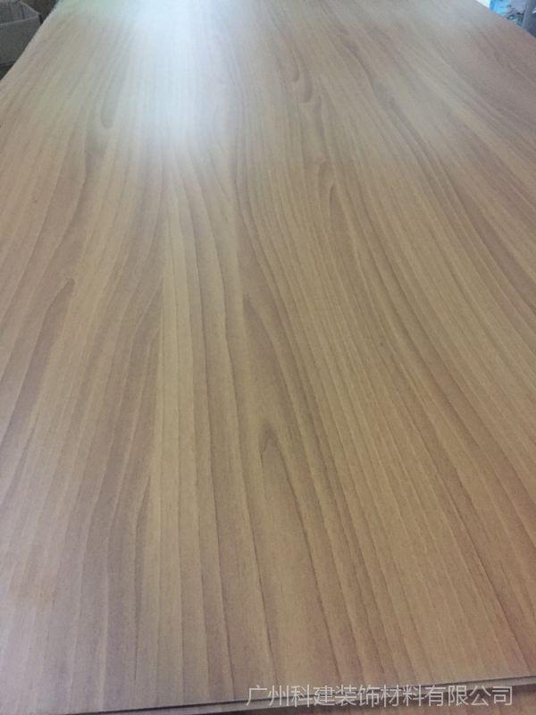 伊美家防火板W7921托斯卡胡桃威盛亚同款耐火板连锁餐饮店胶合板