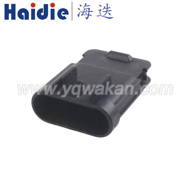 5孔1.5系列防水公母接插件Delphi德尔福汽车连接器13519053 15326827