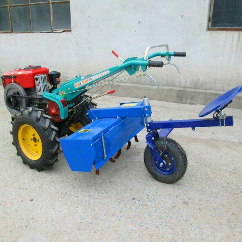 常州柴油电启动手扶旋耕机 小型农用开沟耕田机