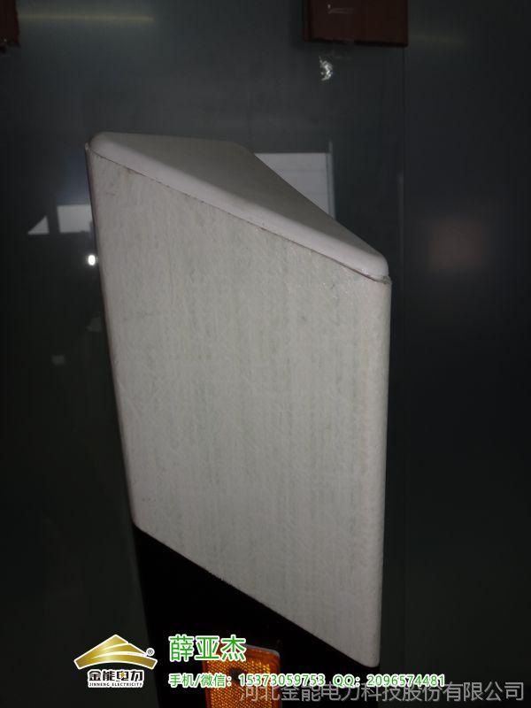 安达玻璃钢燃气设施严禁破坏标识桩1000*120*120发货