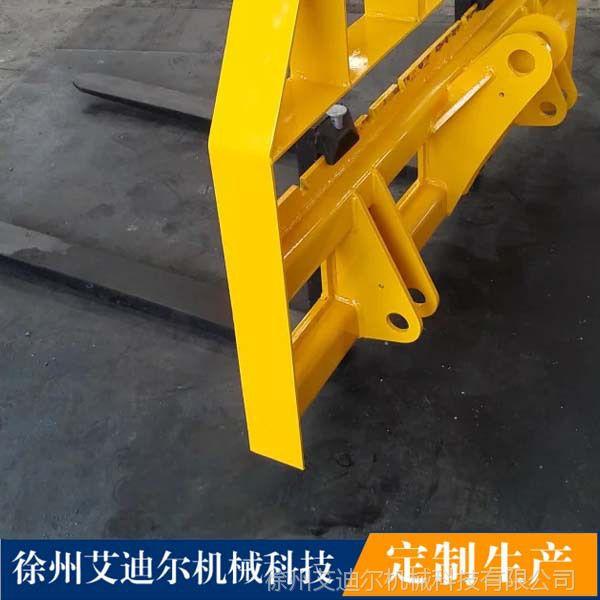 叉装车价格 2t 3t 5t装载机配货叉16吨石材叉齿100mm厚度
