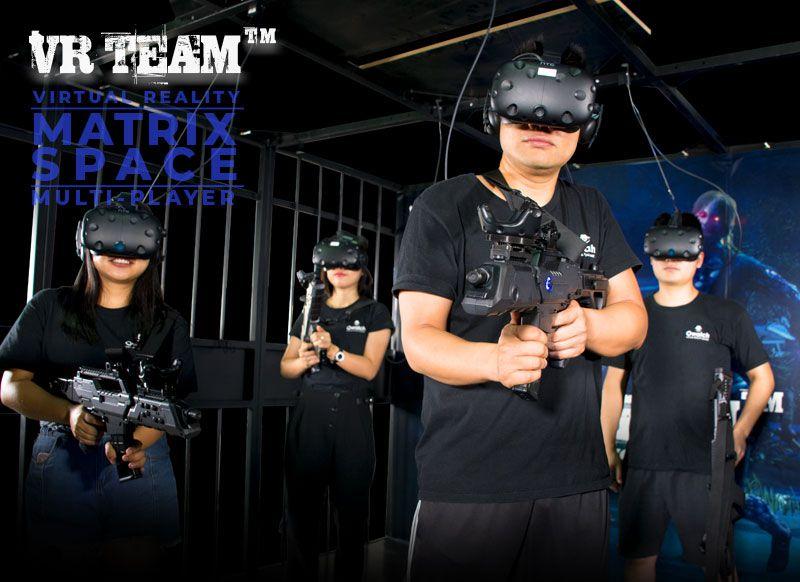 VR游戏机-4人队战