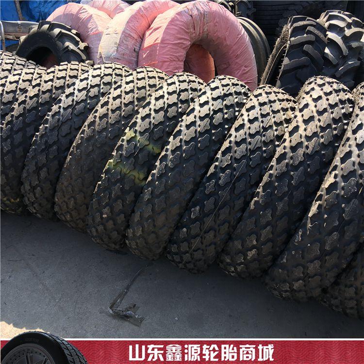 草地胎9.5-24 16.9-28R-3菠萝花纹草坪草地轮胎 压路机轮胎