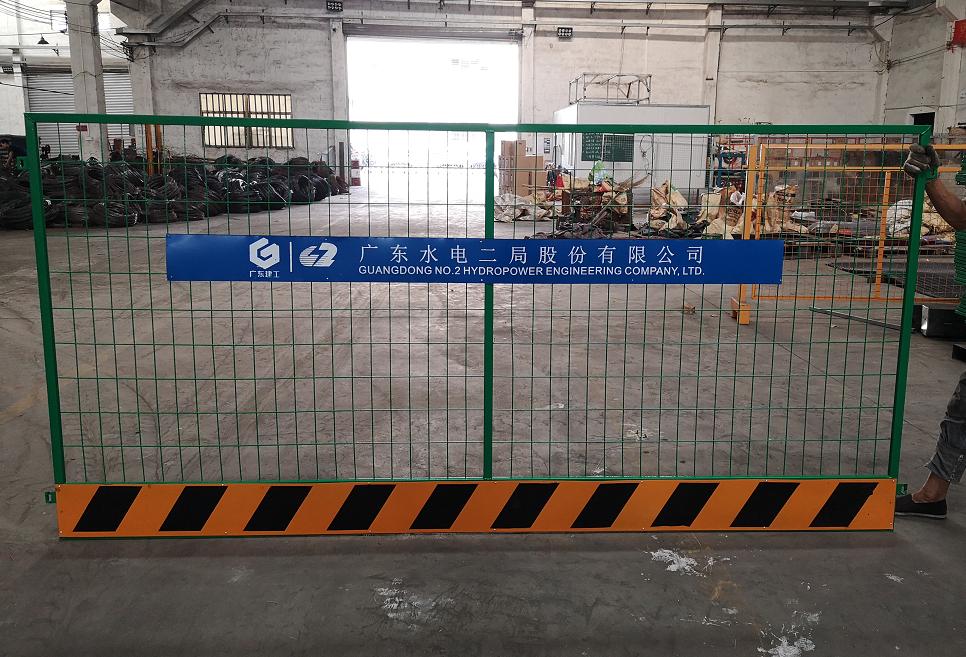 广州工地基坑围挡 东莞施工防护栏 梅州建筑隔离栅栏现货