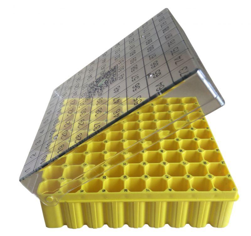 冻存盒 聚碳酸酯 9*9 81格 PC材质 厂家直销