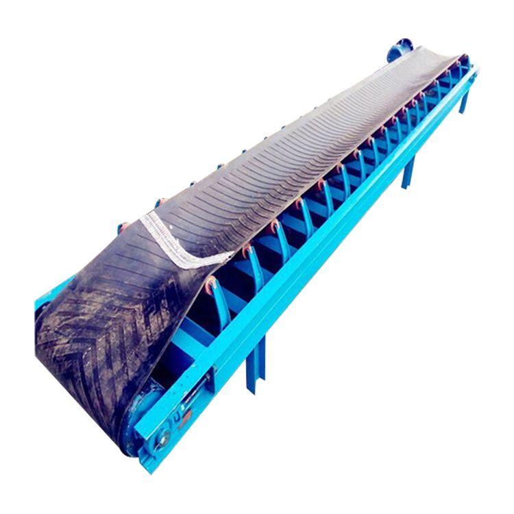 石河子小型皮带输送机加工厂 防爆电机带式输送机皮带机