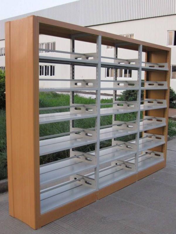 洛阳双面钢制书架价格_多少钱-生产型企业
