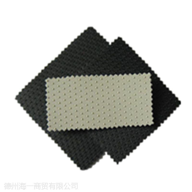 供应鱼塘防渗土工膜 黑膜沼气2.0厚单双糙面HDPE土工膜