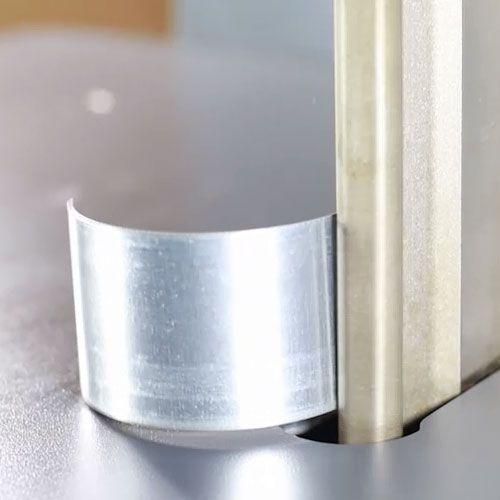 双刀交替折弯镀锌板金属广告字全自动数控弯字围字机