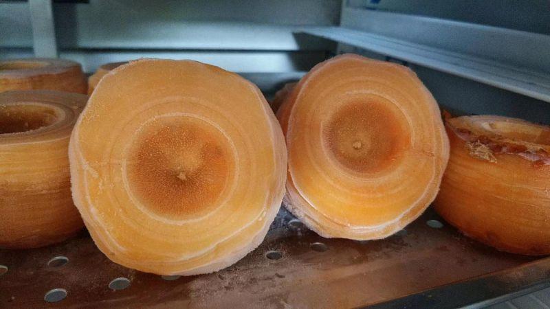 冰冻柿子削皮机、冰冻柿子去皮机,柿子加工设备