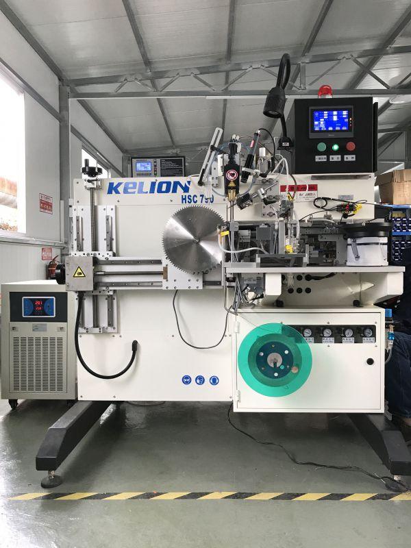 启亮(KELION)HSC790E机械手圆锯片全自动焊齿机