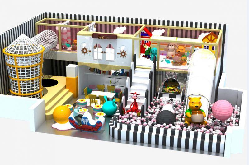 马卡龙主题淘气堡   室内游乐设备厂家   山东淘气堡厂家