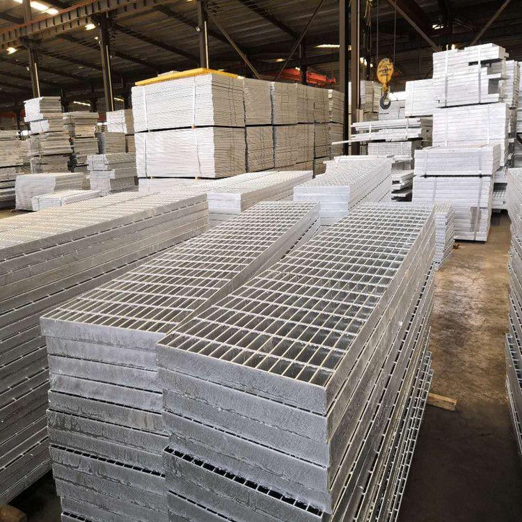 水沟盖钢格栅板/出口钢格栅板标准/青岛钢格栅板厂